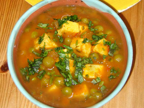 Low-Fat Matar Paneer picture