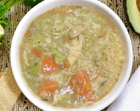 Low Calorie Chicken Soup picture