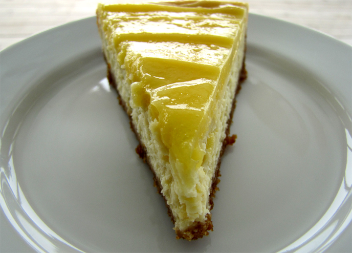 Low Calorie Lemon Cheesecake picture
