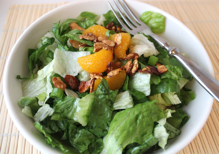Low Calorie Mandarin Orange Salad picture