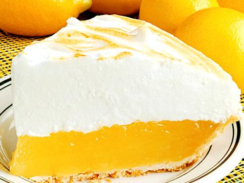 Low Calorie Lemon Pie picture