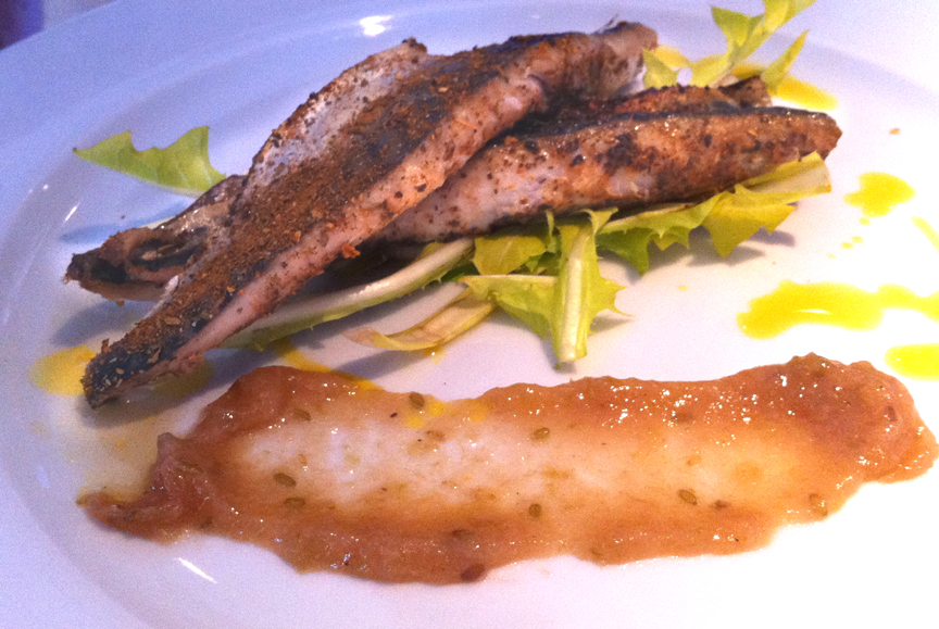 Mackerel with Gooseberry Sauce picture