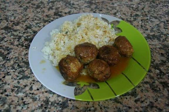 Madras Curried Meatballs picture