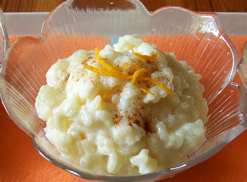Mandarin Rice Pudding picture