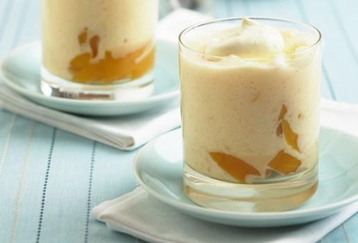 Mango and Custard Apple Mousse picture
