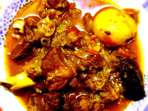 Mutton Rezala picture