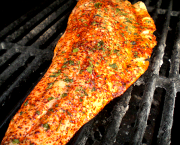 Marinated Broiled Trout picture
