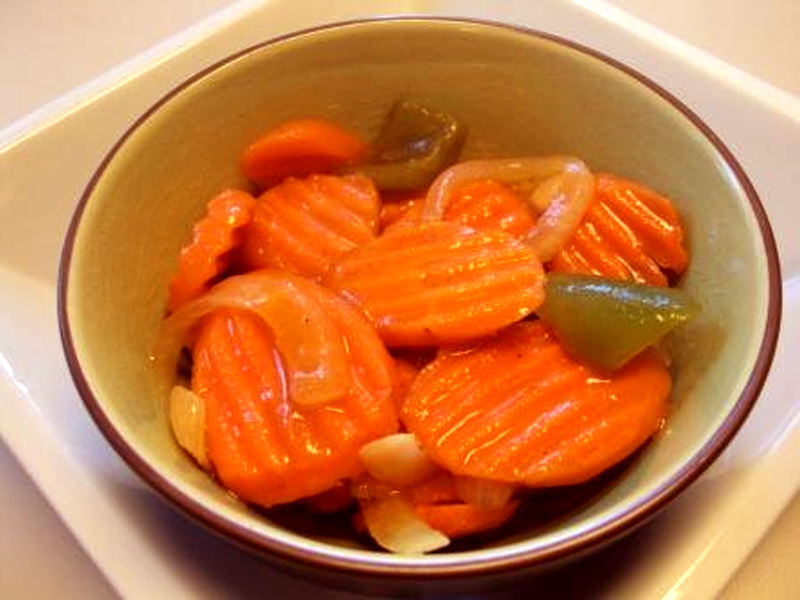 Sugar Marinated Carrots picture