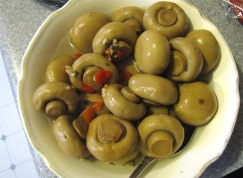 Marinated Mushrooms picture