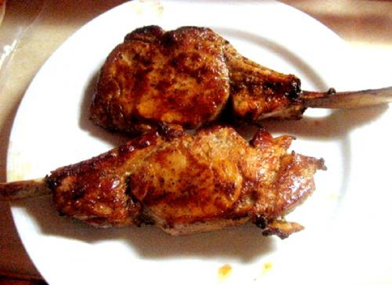 Marinated Veal Chops picture