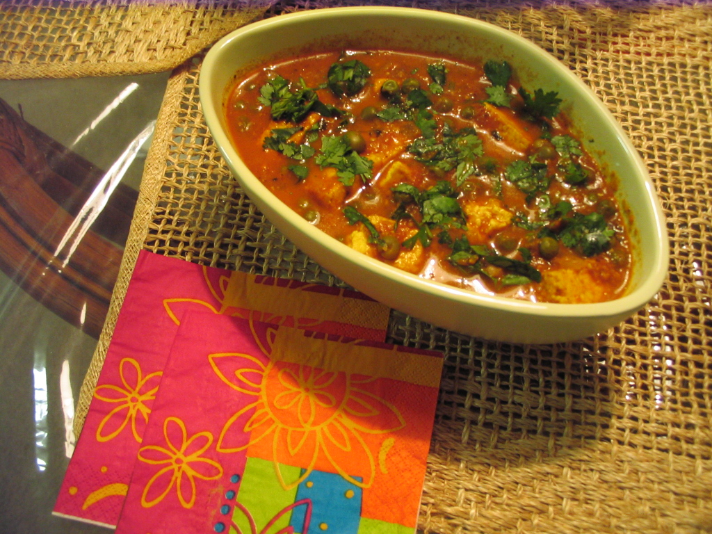 Matar paneer by Chef Sonali picture