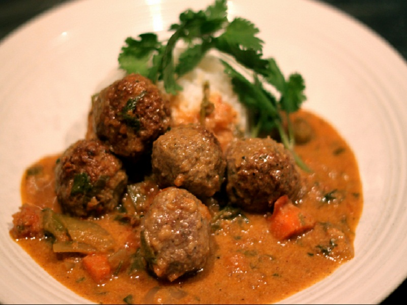 Meat Balls in Sour Cream Sauce picture