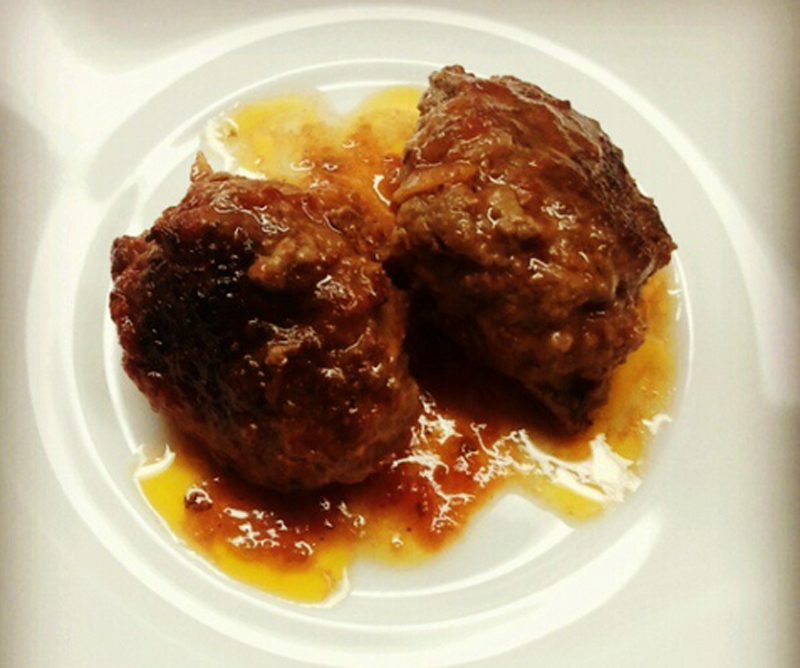 Sherried Meat Balls picture