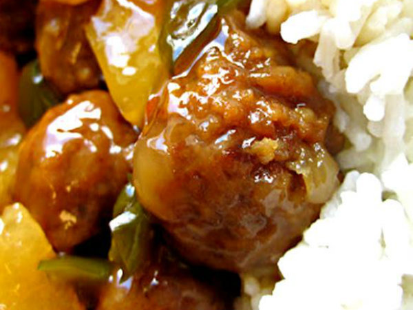 Meatball and Winter Squash Stir Fry picture