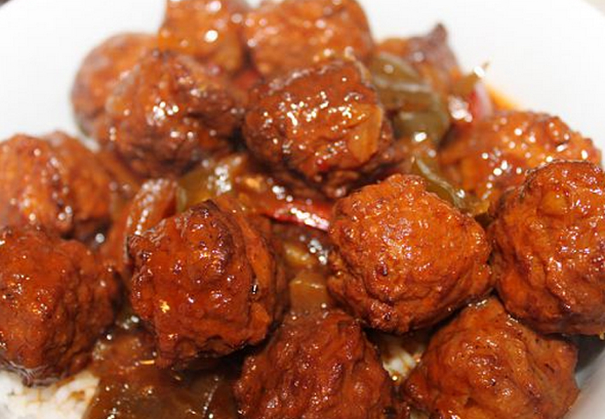 Sweet And Sour Meatballs picture