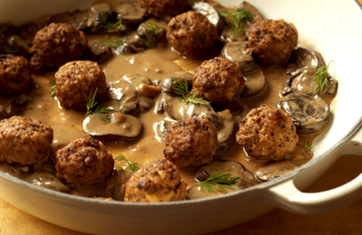 Meatballs In Mushroom Sauce picture