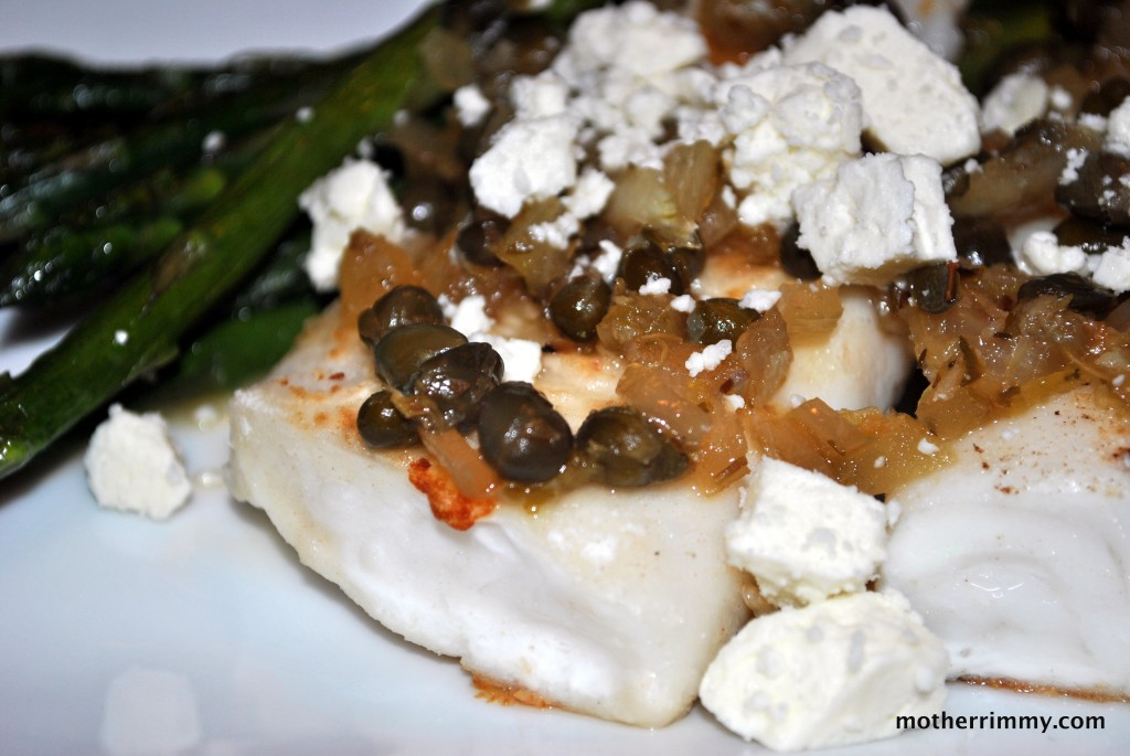 Mediterranean Tilapia with Lemon Caper Sauce picture