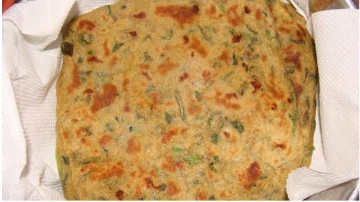 Methi Paratha picture