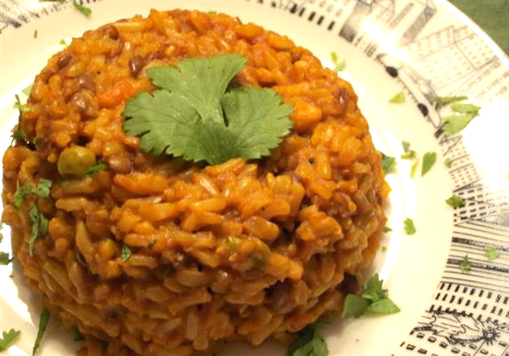 Mexican Lentils And Rice picture