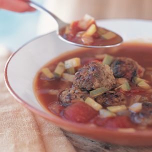 Mexican Meatball Soup picture