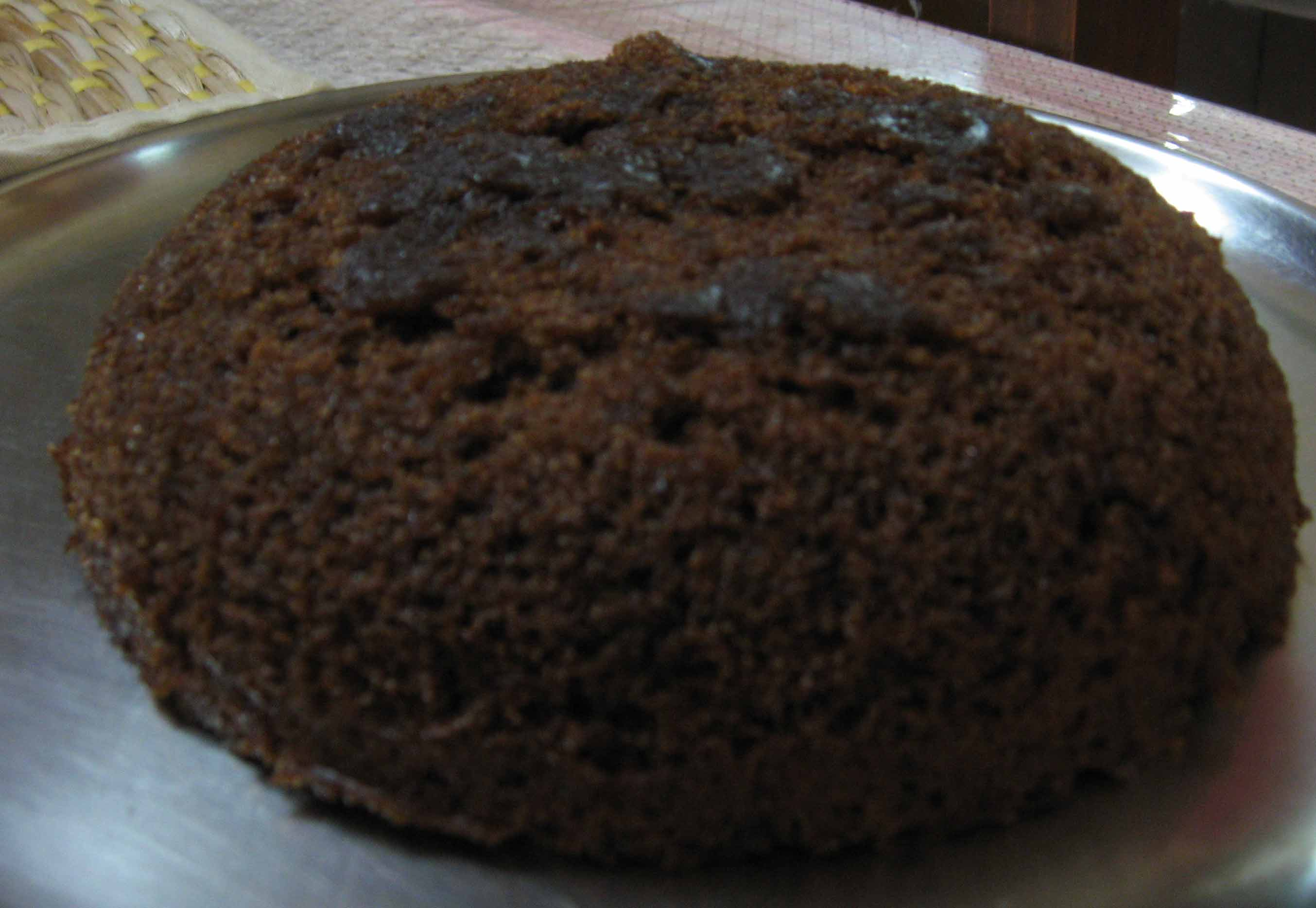 Microwave chocolate cake picture