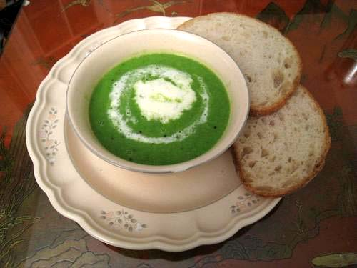 Minted Cream Of Pea Soup picture