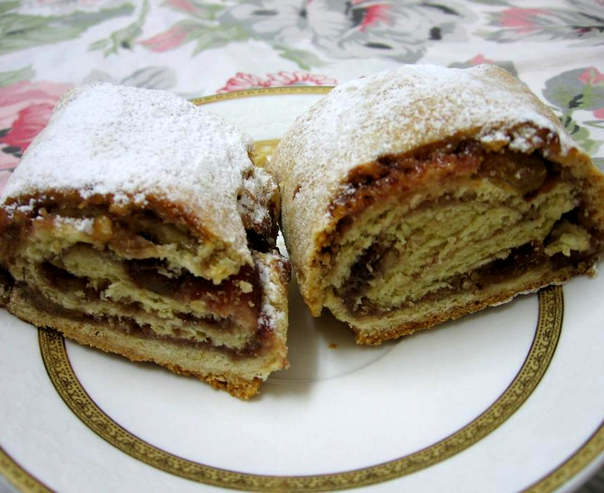 Mixed Dried Fruit Strudel picture