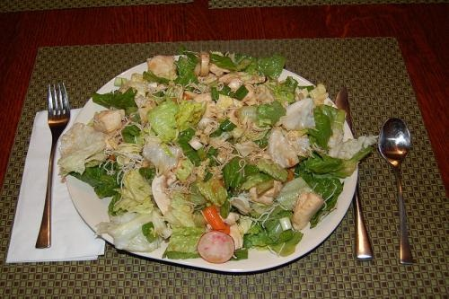 Mixed Leaf and Pine Nut Salad picture