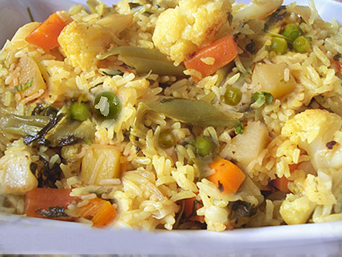 Mixed Vegetable Pulao picture