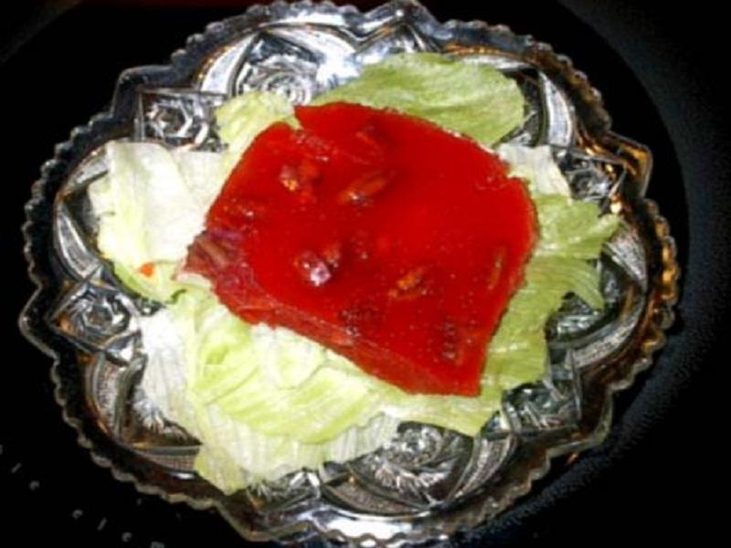 Molded Grapefruit Salad picture