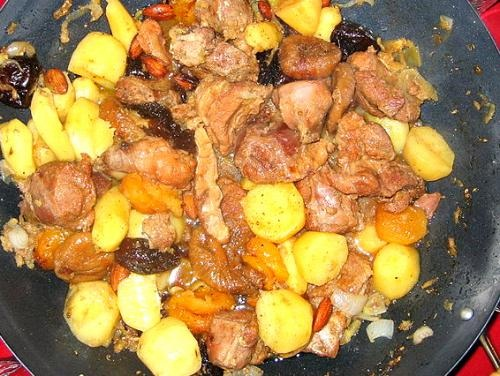 Moroccan Beef and Pear Tajine picture