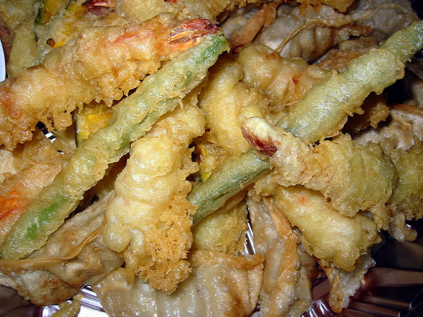 Seafood Vegetable Tempura picture