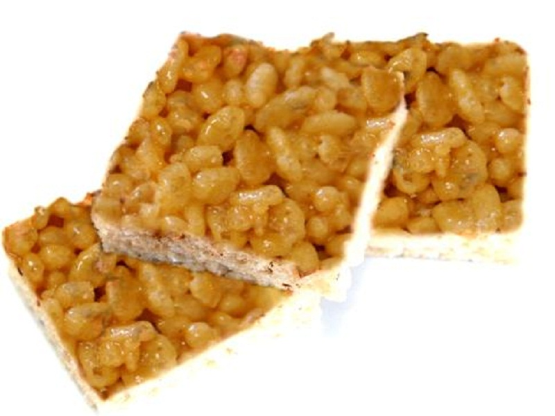 Mumra Ni Chikk1 ( Puffed Rice Toffee ) picture