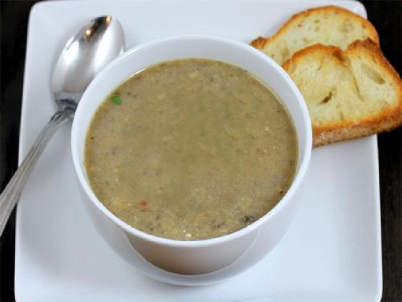 Mushroom and Rice Soup picture