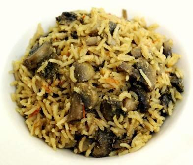 Mushroom Asparagus Stirred Rice picture