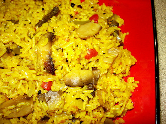 Mushroom Biryani picture