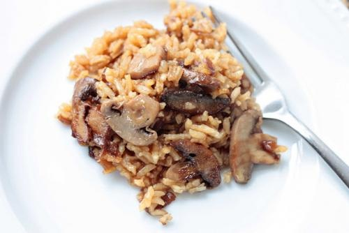 Rice Pilaf with Fresh Mushrooms picture