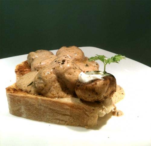 Mushrooms On Toast picture