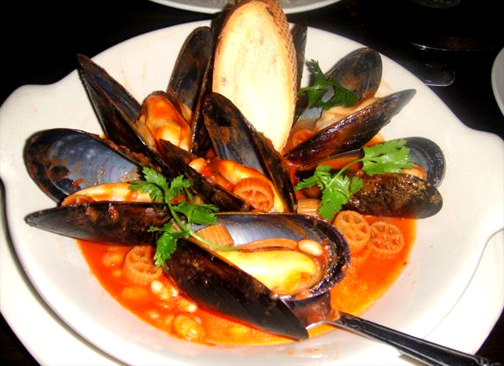 Mussels in Sherry picture