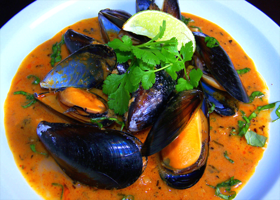 Mussels Steamed in Wine picture