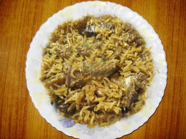 Mutton Pulao picture
