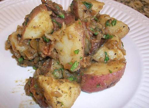 New Potatoes With Mint And Chives picture