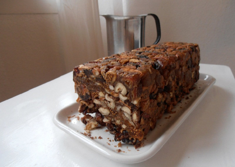No-Bake Fruit Cake picture