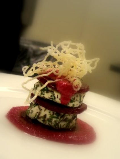 Herb Goat Cheese & Beet Salad picture