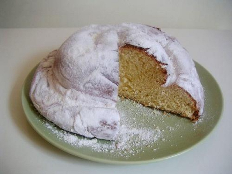 Nutmeg Feather Cake picture