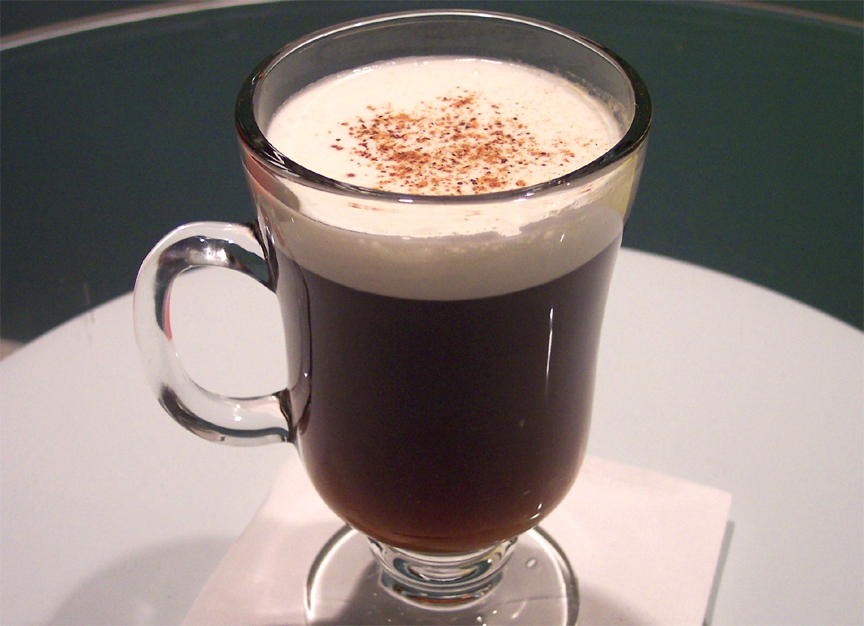 Nutmeg Flavored Irish Coffee picture