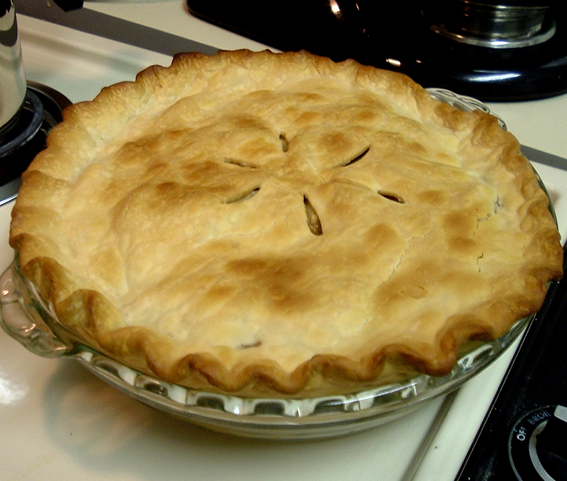 Old Fashioned Apple Pie picture