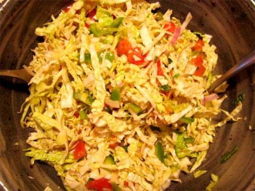 Old Fashioned Cabbage Salad picture