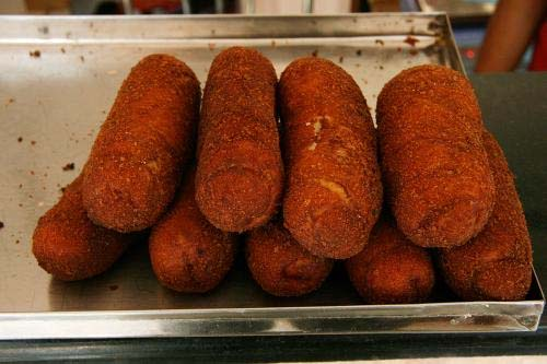 Old Fashioned Meat Roll And Meat Roll Fritters picture