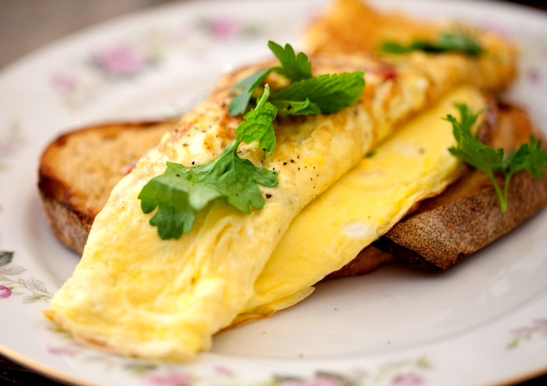 Omelette With Anchovies picture